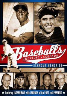 Baseballs Greatest Legends Diamond Memories DVD, 2009