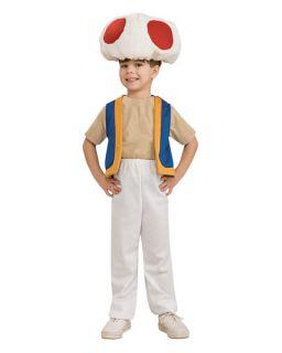 kids super mario bros toad costume