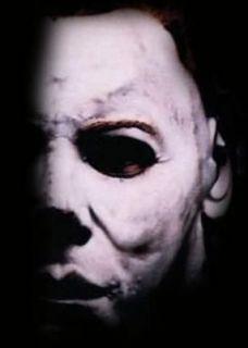 Knife Blood & Face Paint Michael Myers Halloween Fancy Dress Costume