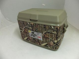 RUBBERMAID 1783758 48 QUART VICTORY COOLER ICE CHEST MOSSY OAK NEW