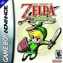 The Legend of Zelda The Minish Cap SAVES GBA Nintendo Game Boy Advance
