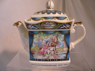 Sadler A MIDSUMMER NIGHTS DREAM Two Cup Teapot William Shakespeare