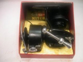 VINTAGE GARCIA MITCHELL 300 SPINNING REEL + ORIGINAL BOX WITH MATCHING