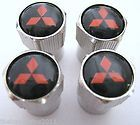 MITSUBISHI VALVE CAPS TIRES RIMS WHEELS OUTLANDER SPORT ECLIPSE LANCER