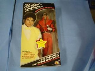 michael jackson superstar of the 80s thriller doll 7800 time