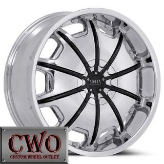 26 Chrome Status Opus Wheels Rims 5x4.75 5 Lug S 10 Blazer Sonoma