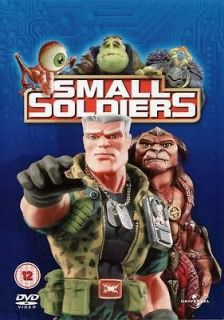 Small Soldiers 1998 DVD Action Comedy Movie Region 2 Brand New