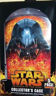 Star Wars ROTS Collectors Cases for ROTS figures ONLY