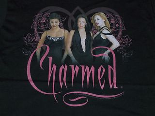 Charmed (TV Show) Womens T Shirt (Size: Small, Color: Black) New