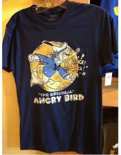 Disney Park Donald Duck The Original Angry Bird Adult T Shirt S M XXL
