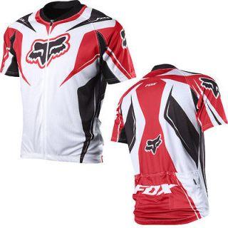 2012 fox racing race short sleeve mtb bike jersey shirt