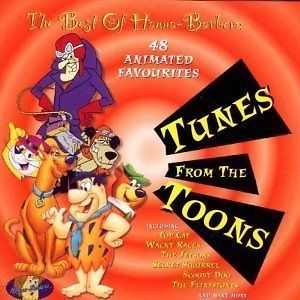 Tunes From The Toons Best Of Hanna Barbera CD Scooby Doo/Top Cat/Wacky