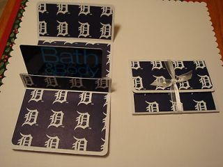 PAPER HANDCRAFTED GIFT CARD HOLDER   MLB DETROIT TIGERS