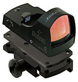 burris fastfire ii 4 moa reflex sight and picatinny mount