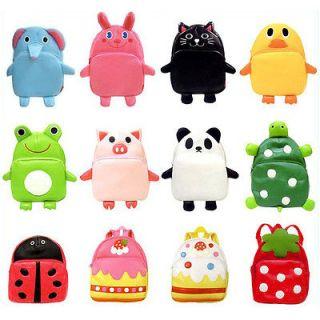 New 15 Style Baby Toddler Kids Cartoon Animal Backpack Schoolbag