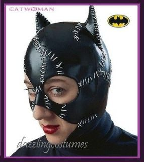 catwoman costume mask batman returns michelle pfeiffer licensed adult