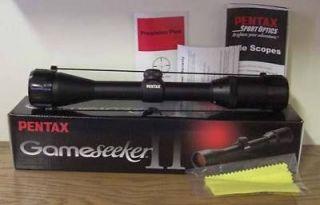 Pentax Gameseeker II Rifle Scope 4 12x40 89741 Deer Hunting Lifetime