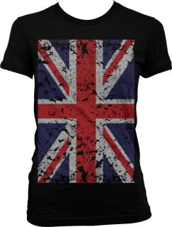 Oversized Flag Of Great Britain Juniors T Shirt British Country Pride