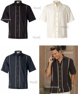 cubavera charlie sheen diagonal camp shirt s 3xl new