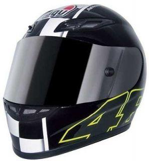 VALENTINO ROSSI CELEBRATE/CELEBR8 MOTORCYCLE RACE/STREET HELMET 3XL