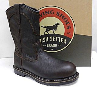 MENS RED WING BOOS PULL ON SAFEY OE 11 INCH 83904 ALUMINUM OE 13