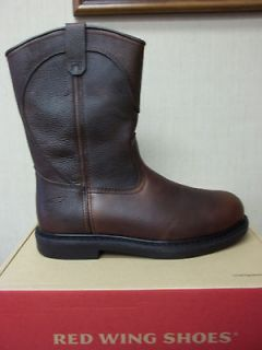 brand new men s red wing 5763 dark brown boo
