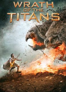 Wrath of the Titans DVD, 2012