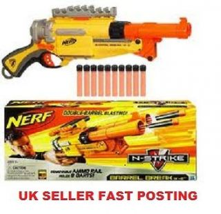 BRAND NEW Nerf N Strike Barrel Break IX 2 Double Shotgun Style Blaster