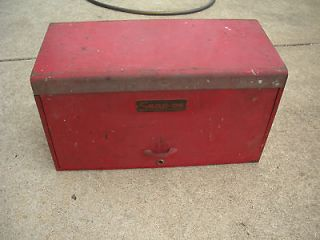vintage 6 drawer snap on machinist tool box time left