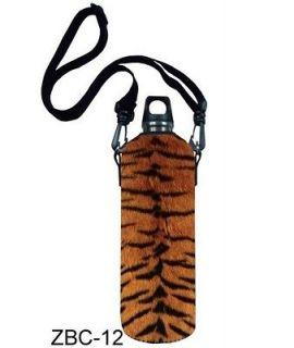 1L Tiger Water Bottle Carrier Insulated Holder Pouch bag case Shoulder