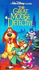 DISNEY   The Adventures of the Great Mouse Detective (VHS, 1992)