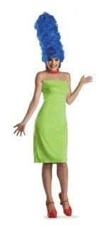 NEW Womens Costume Marge Simpson w Wig Licensed Small 4 6