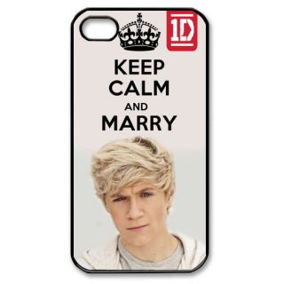 Keep Calm and Marry Niall Horan One Direction 1D iPhone Case [4 / 4S