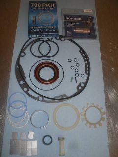 GM 700R4 Pump Rebuild Kit HI Performance Seal Bushing Boost Valve Ring