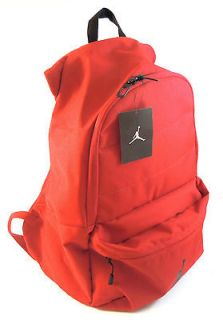 NIKE AIR JORDAN JUMPMAN VARSITY RED BACKPACK LAPTOP SCHOOL BAG