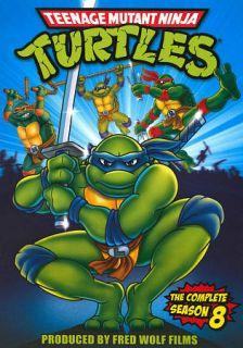 Teenage Mutant Ninja Turtles The Complete Season 8 Set DVD, 2009
