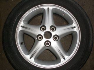 97 99 NISSAN MAXIMA 16 WHEEL 16X6 1/2 ALLOY 5 SPOKE RIM ONLY NO