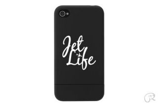 2x jet life cell phone sticker decal