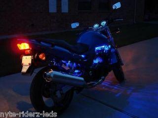 LIGHTS MOTORCYCLE KIT HARLEY DAVIDSON & VW TRIKE WIDE ANGLED LED KIT