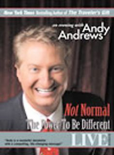 Andy Andrews   Not Normal The Power to Be Different DVD, 2003