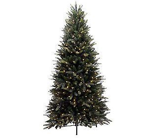 Bethlehem Lights 9 Balsam Fir Tree with LED Lights CHRISTMAS CLEAR