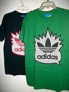 Adidas Originals Quote Trefoil Short Sleeve Mens Cotton T Shirt
