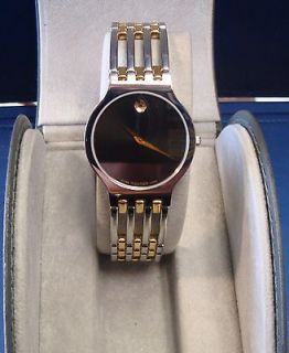 Newly listed Authentic Movado Esperanza Museum Mens Watch Gold Tone