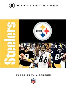 NFL Greatest Games Series   Pittsburgh Steelers Super Bowl Victories
