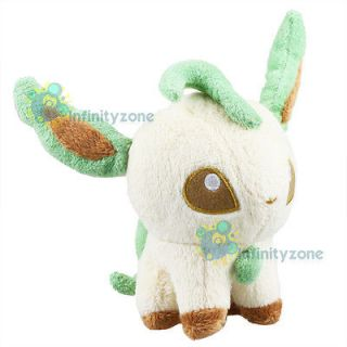 Newly listed NEW Pokemon LEAFEON Pokedoll 6 Plush Figure Doll Toy B&W