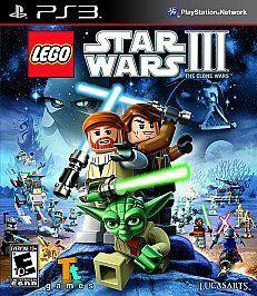 LEGO Star Wars III The Clone Wars (Sony Playstation 3, 2011) NO