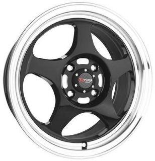 15 4x100 dr23 bk wheel rims nissan sentra 200sx maxima