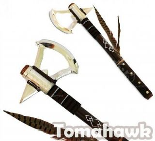 17.5 Assassins Tomahawk Axe   Native American Cosplay   Honor the