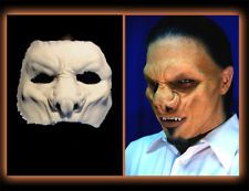 halloween foam latex vamp lord face brows mask lot time