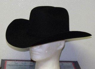 STETSON 4X BUFFALO FELT APACHE COWBOY WESTERN HAT
